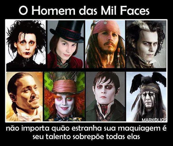 As Inúmeras Faces De Johnny Depp